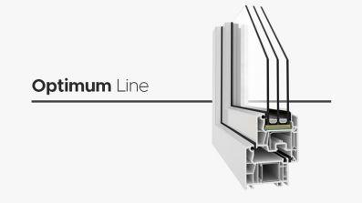 Wikęd Optimum Line okno PCV