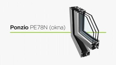 Wikęd Ponzio PE 78N okno aluminiowe