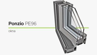 Wikęd Ponzio PE 96 okno aluminiowe
