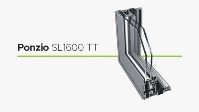 Wikęd Ponzio SL1600 TT tarasowe drzwi przesuwne HST z aluminium