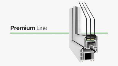 Wikęd Premium Line okno PCV