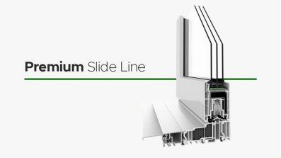 Wikęd Premium Slide Line tarasowe drzwi przesuwne HST z PCV