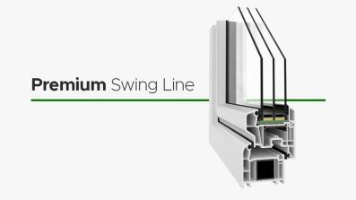 Wikęd Premium Swing Line okno PCV