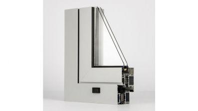 Windows 2000 Aliplast Ecofutural EF okno aluminiowe