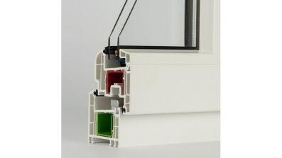 Windows 2000 Rehau Brillant Design okno PCV