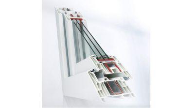 Windows 2000 Rehau Synego okno PCV