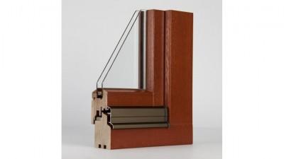 Windows 2000 Softline okno drewniane