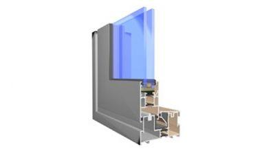 Windows 2000 Aliplast Visoglide HS drzwi przesuwne aluminiowe