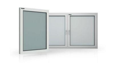 Okna aluminiowe Wiśniowski Futuro MB-104