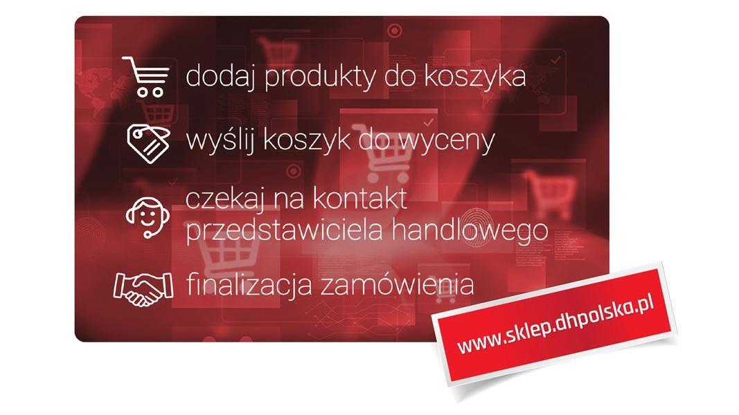 4 października wystartowała witryna zakupowa D+H Polska. Sklep oferuje kompleksowe rozwiązania obejmujące: systemy oddymiania i naturalnej wentylacji, systemy sygnalizacji pożarowej oraz napędy do okien i klap dymowych.