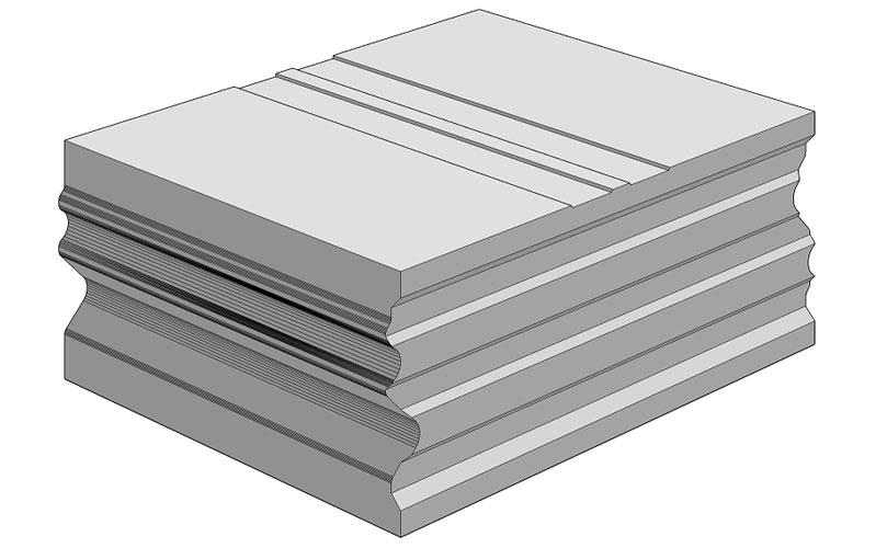 Ciepła Belka Montażowa, (CBM), termoizolacyjna belka uzupełniająca 250/200 mm