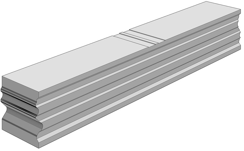 Ciepła Belka Montażowa, (CBM), termoizolacyjna belka uzupełniająca 700/100 mm