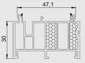 Listwa progowa/transportowa DBR 02 Salamander