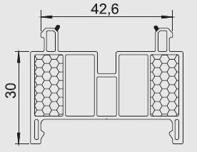 Listwa progowa/transportowa G 3 Gealan