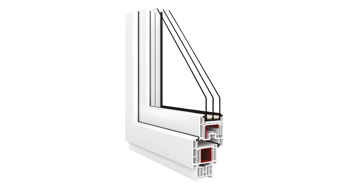 Okno Vetrex V70