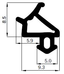 Uszczelka S - 1530 do okna PCV