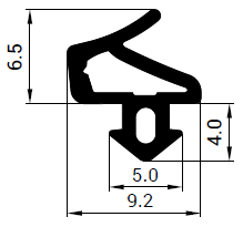 Uszczelka S - 1251 do okna Salamander