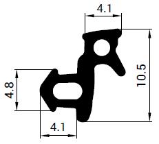 Uszczelka S - 1349 do okna KBE