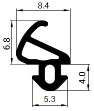 Uszczelka S - 900 do okna LB-Profile